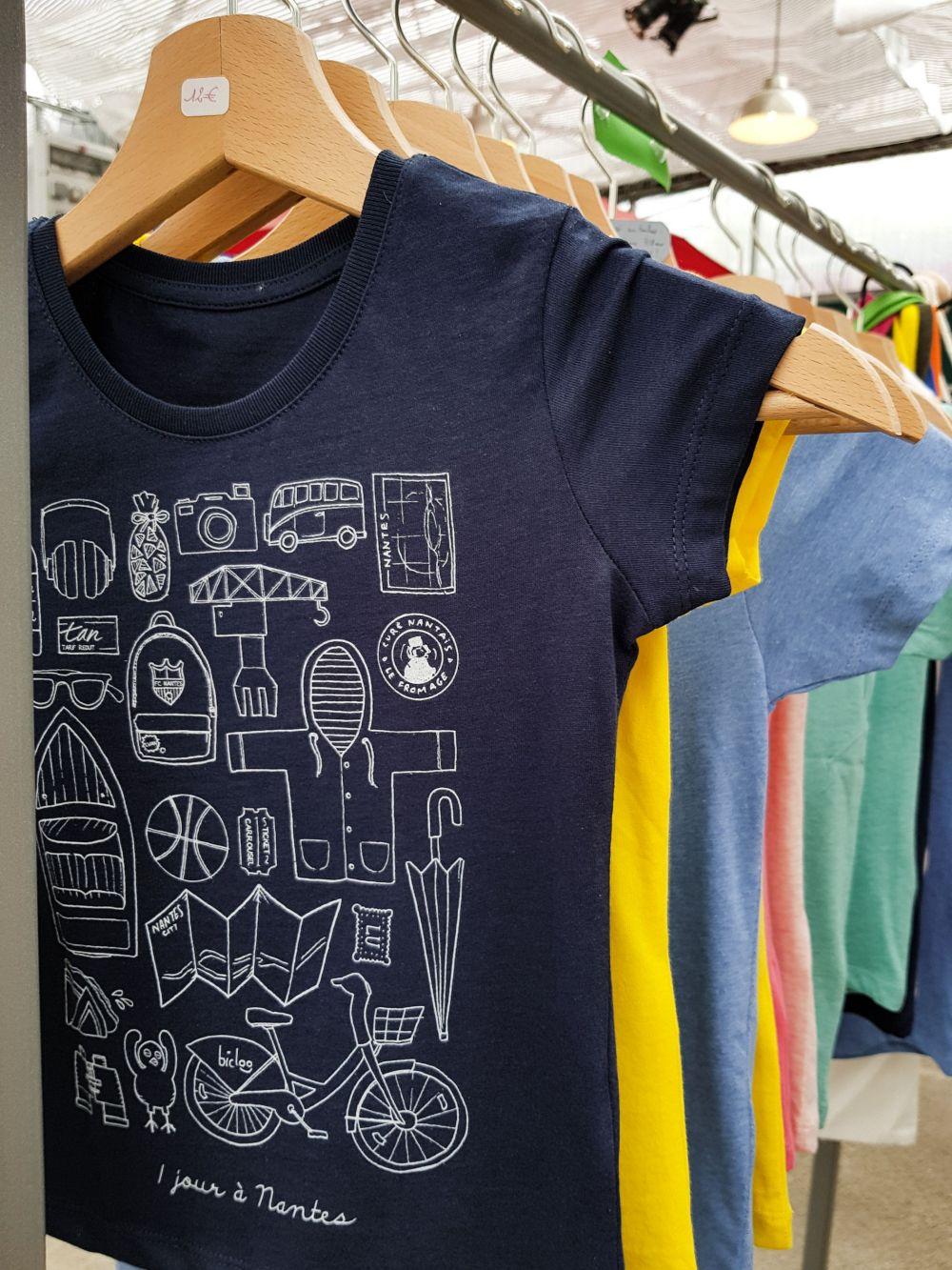 LVAN le voyage à nantes Docteur Paper tee shirt Tourisme Nantes City illustration illustrateur