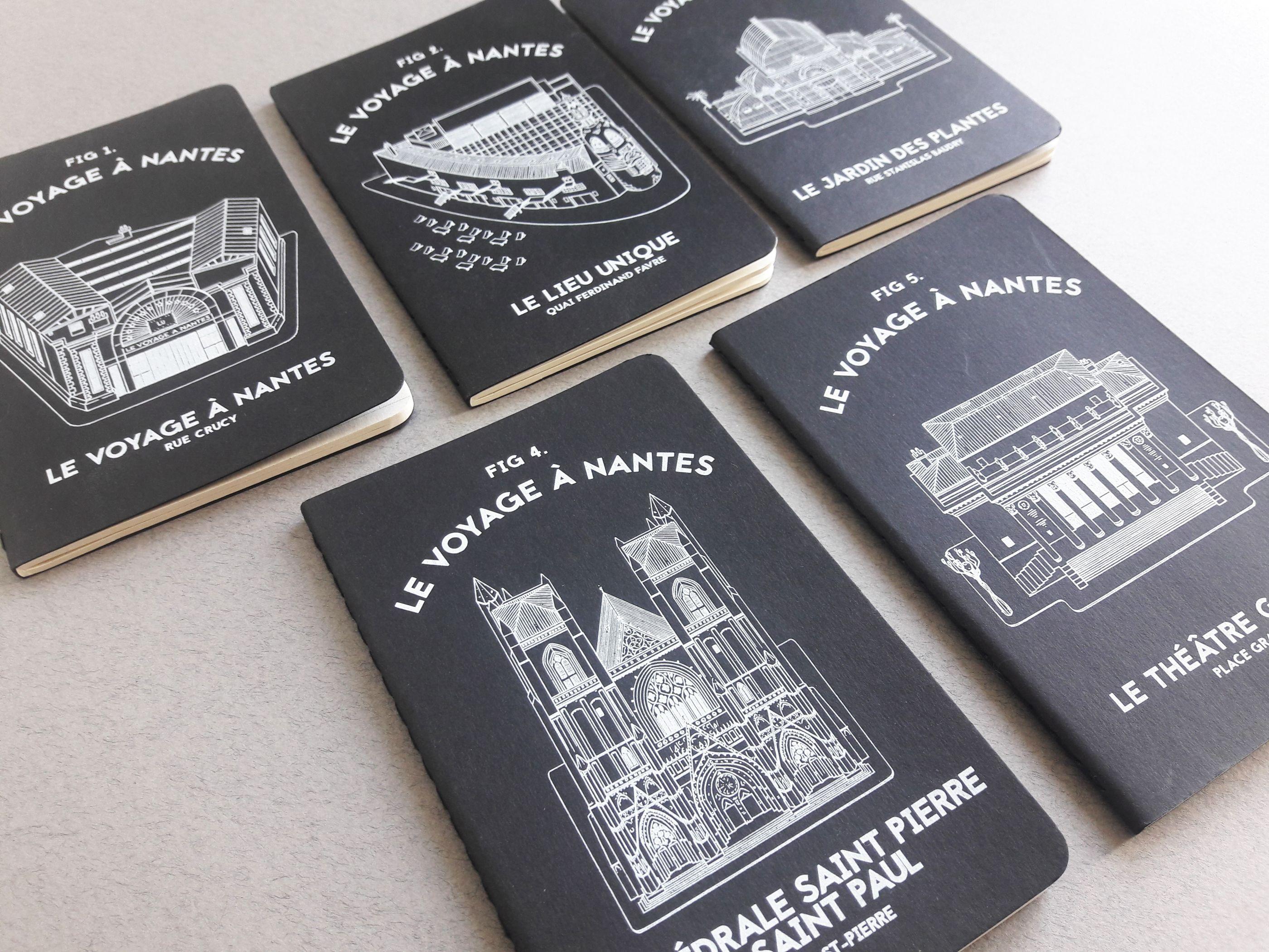 Moleskine LVAN le voyage à nantes Docteur Paper Tourisme Nantes City illustration illustrateur