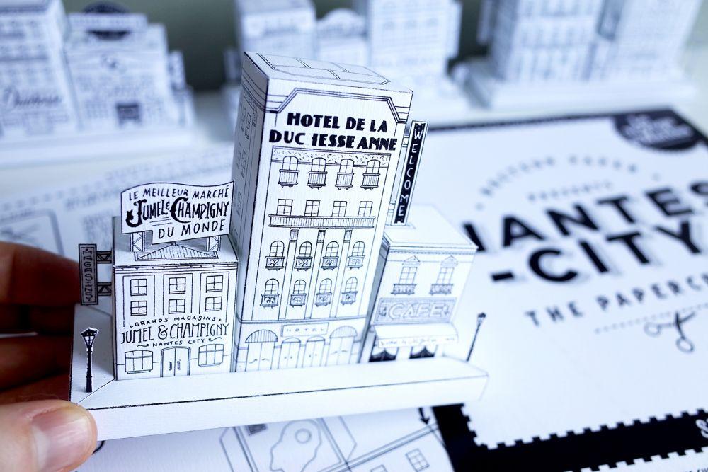 Nantes City Docteur Paper LVAN LE VOYAGE A NANTES