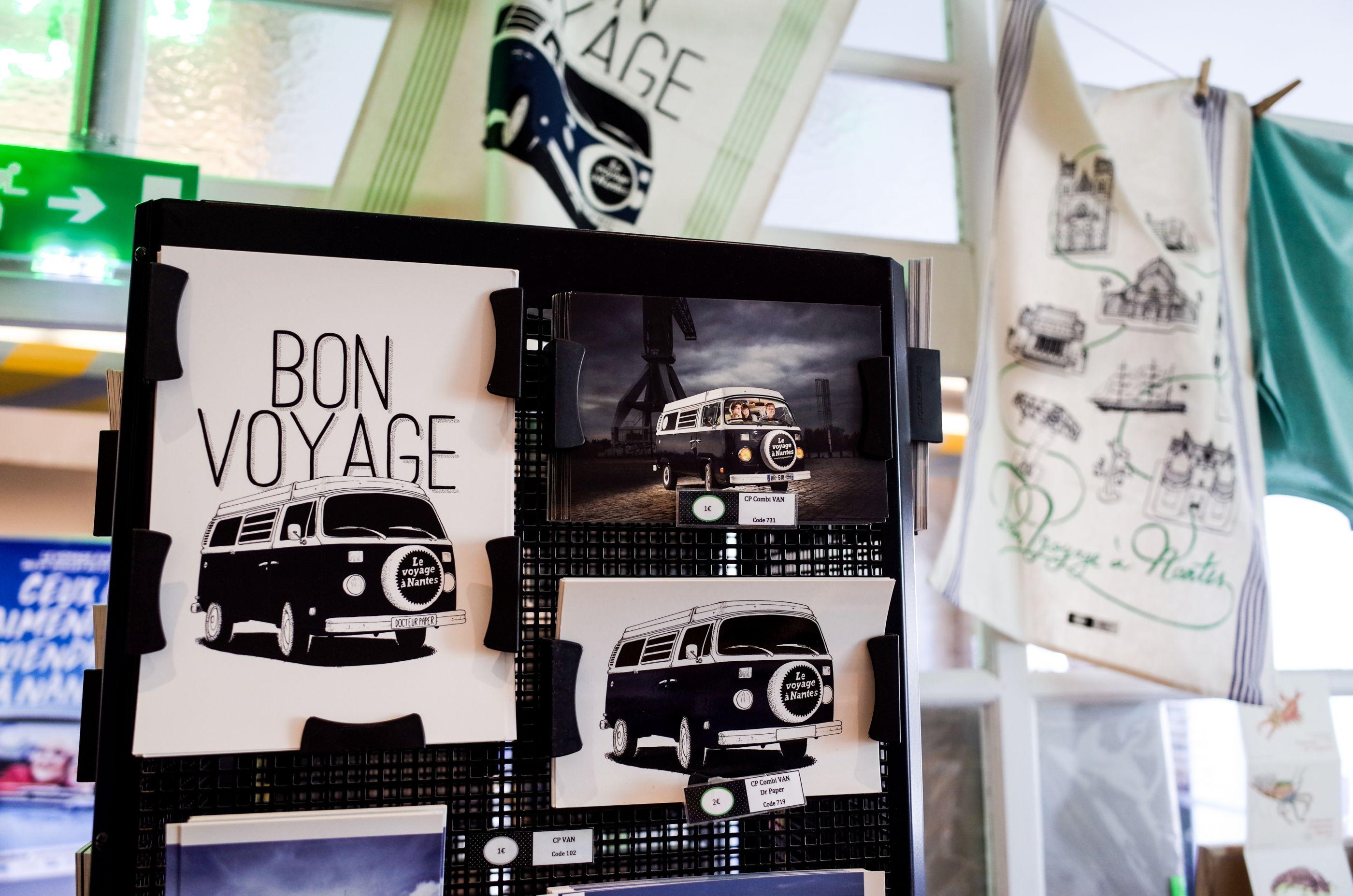 LVAN le voyage à nantes Docteur Paper Tourisme Nantes City illustration illustrateur
