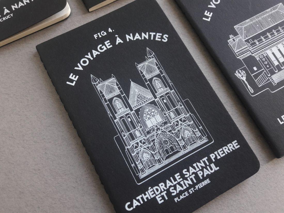 Nantes illustration LVAN le voyage à Nantes Moleskine illustrateur ville