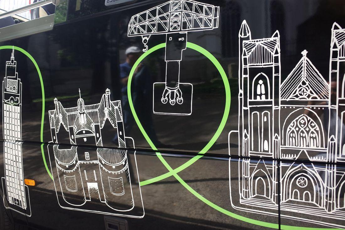 Nantes City Tour illustration Docteur Paper ville illustrateur