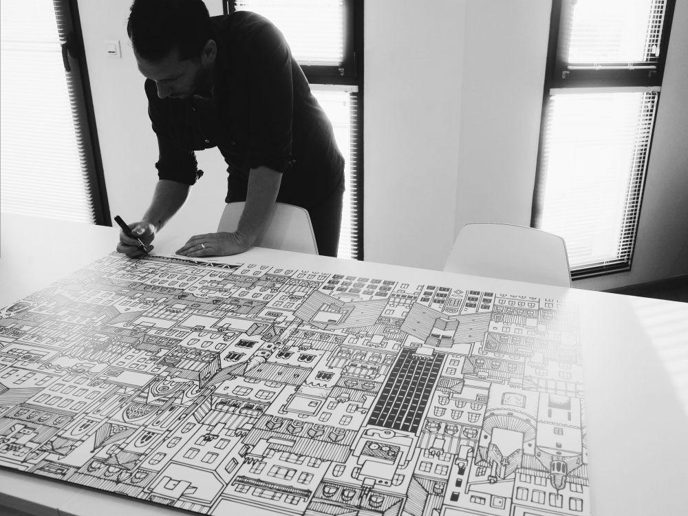 fondation ronald mcdonald Nantes City Docteur Paper illustration ville illustrateur