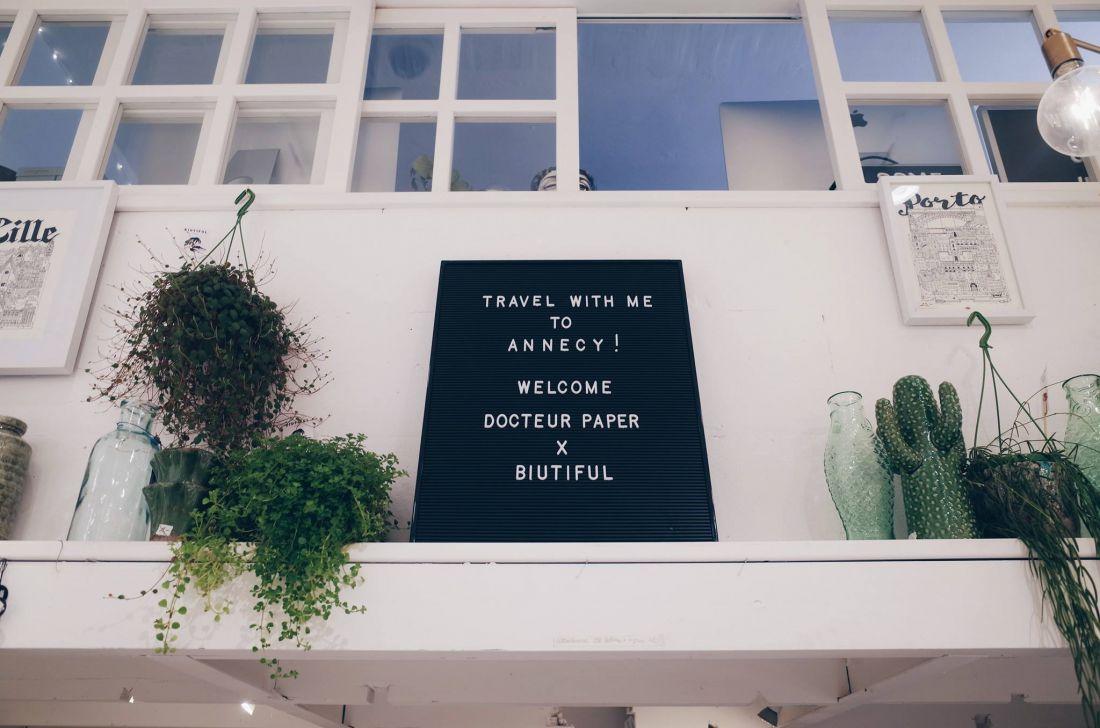 biutiful shop Docteur Paper annecy