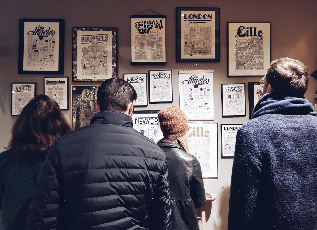 Lille Exposition Dédicace Illustration ville illustrateur