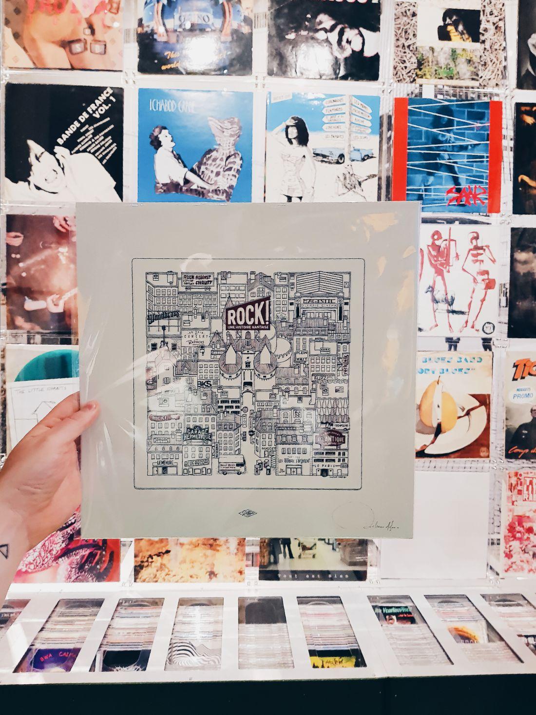 Expo Rock Nantes Docteur Paper Illustration