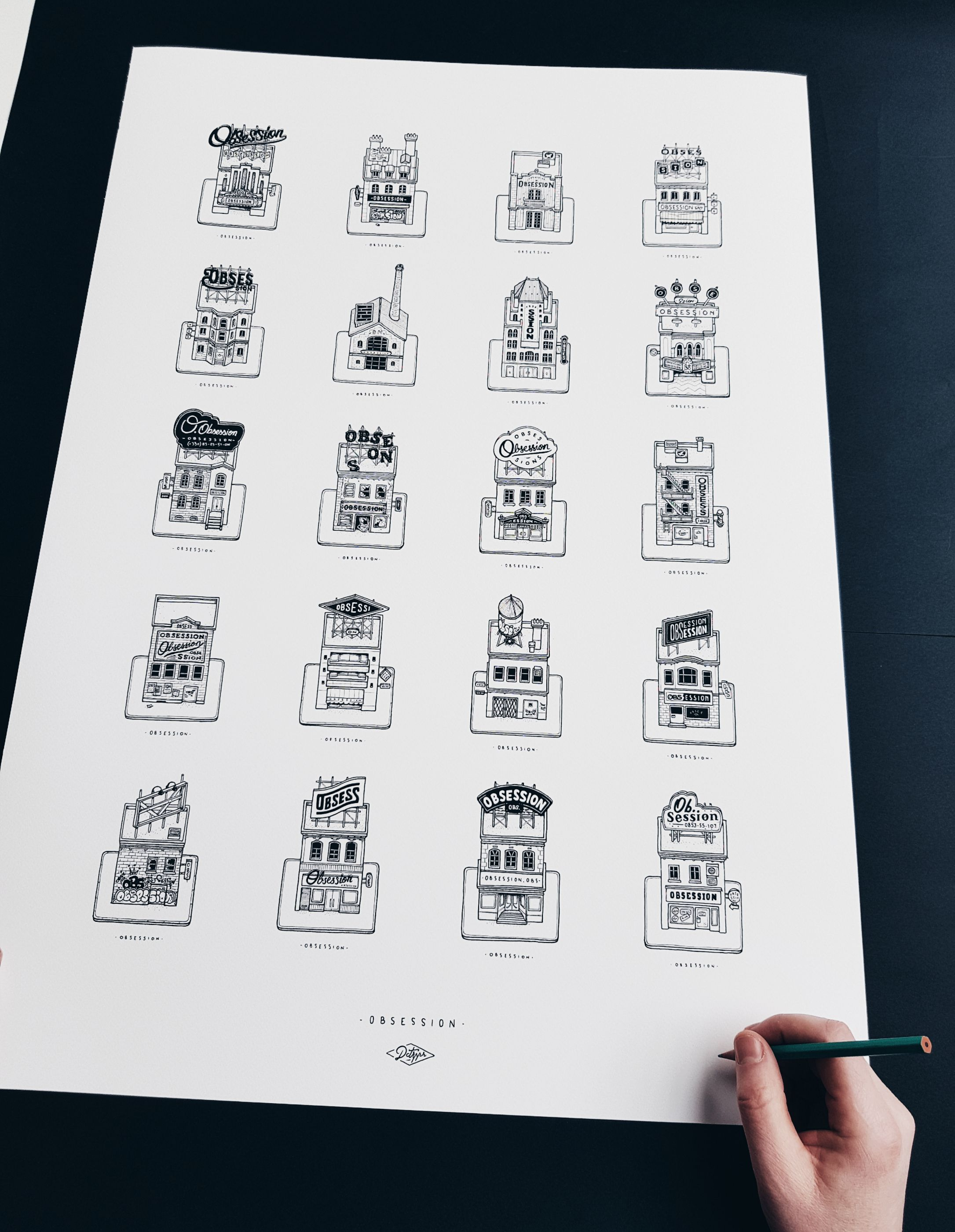 HIP OPSESSION Nantes Illustration Docteur Paper