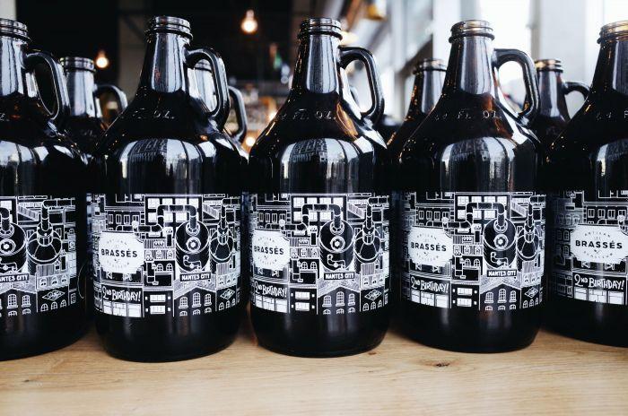 Les Brassés Nantes City Docteur Paper Illustration Bière
