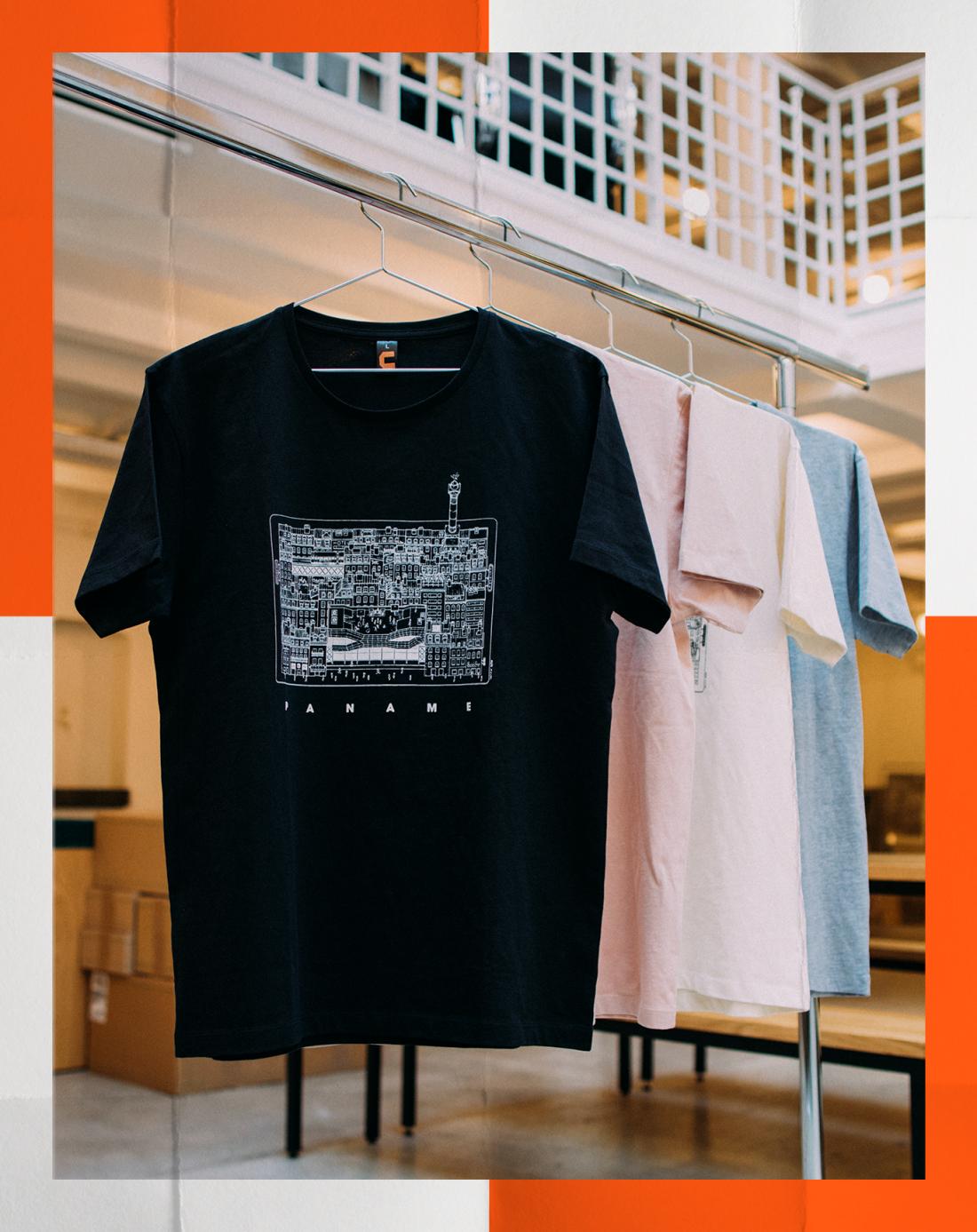 T-Shirt Paname Paris Docteur Paper Courir Illustration