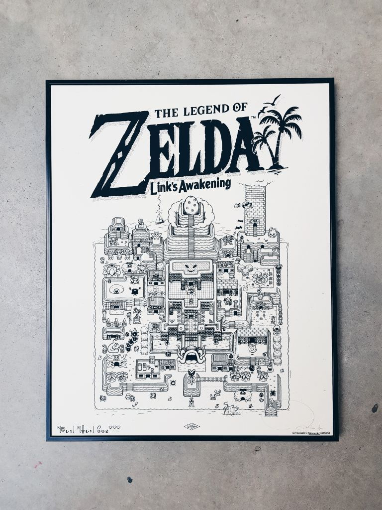 Zelda nintendo illustration Docteur Paper fnac