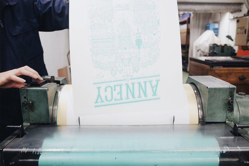Annecy Série Limitée Letterpress