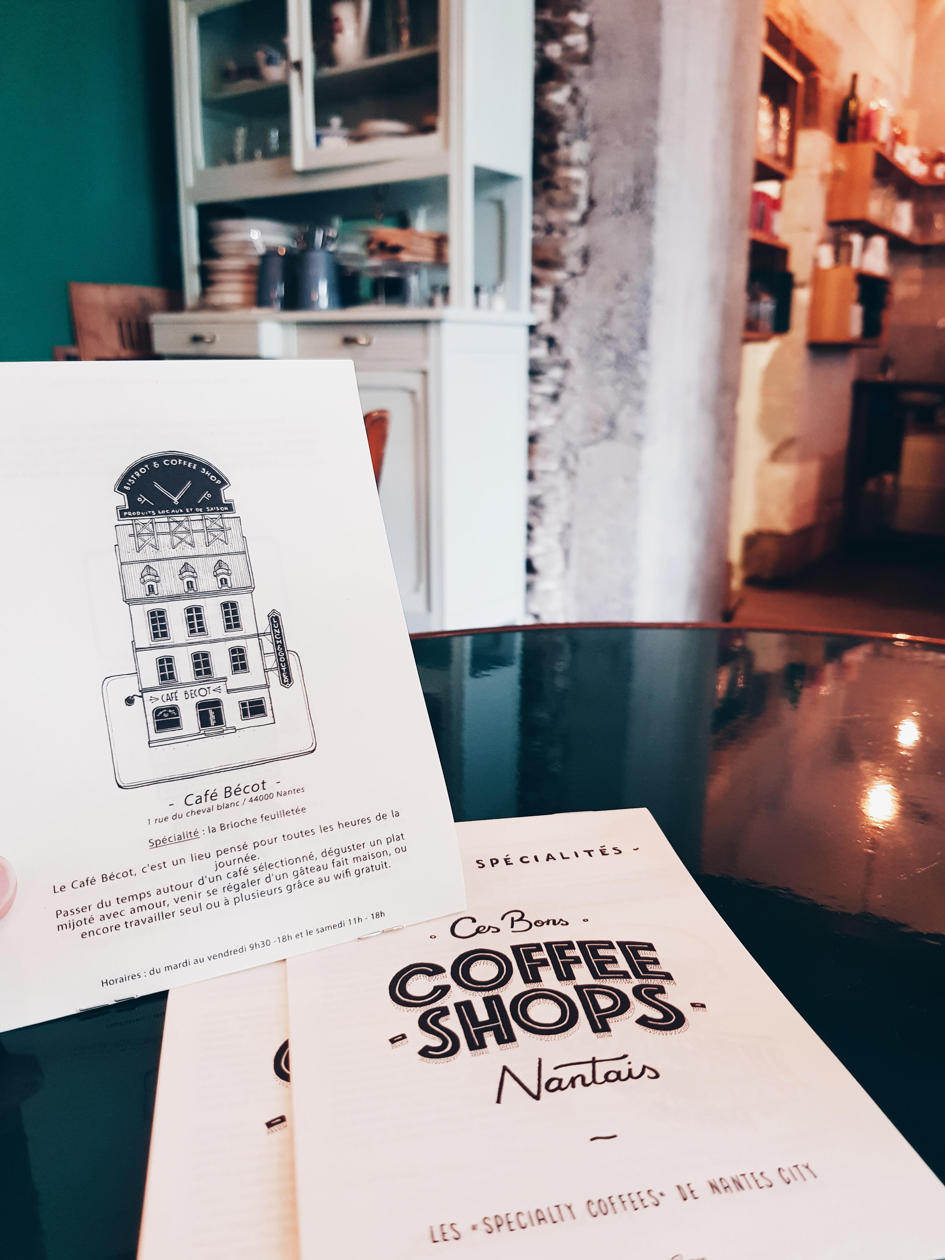 CAFE BECOT ILLUSTRATEUR Docteur Paper COFFEE ILLUSTRATION VILLE NANTES Nantes City