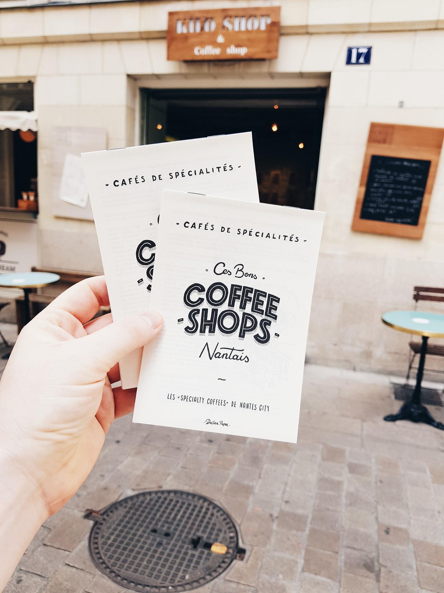 CAFE PENCHE ILLUSTRATEUR Docteur Paper COFFEE ILLUSTRATION VILLE NANTES Nantes City
