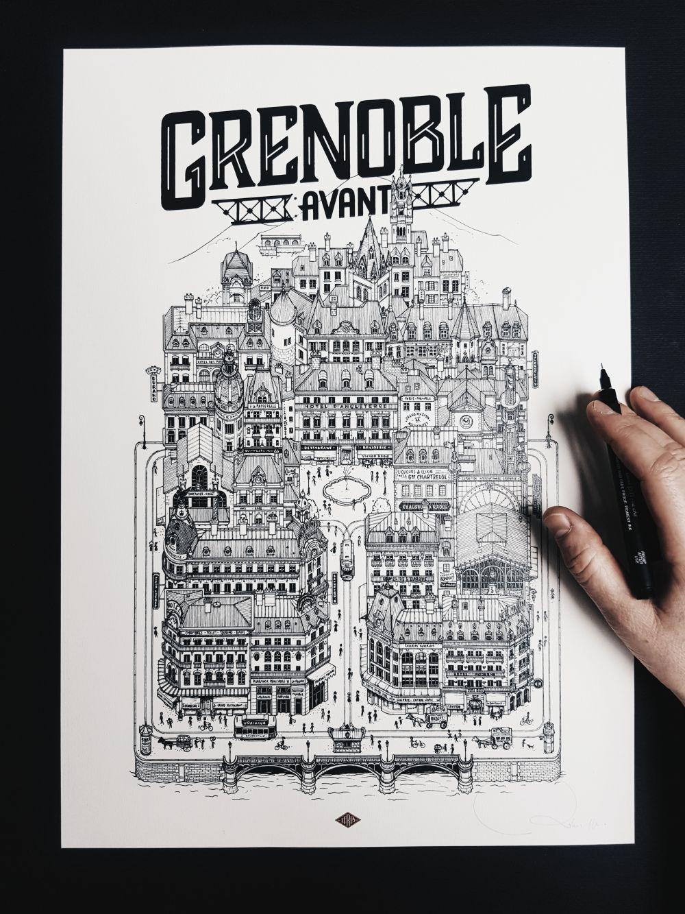 Grenoble Avant Docteur Paper VILLE